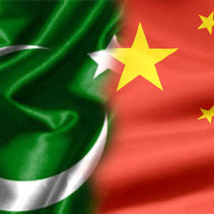 China Pakistan Flag