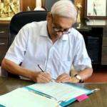 Parrikar Busy After Returning From Us