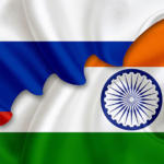 India Russia Flags