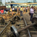 Farakka Express Train Derailed Near Rae Bareli Uttar Pradesh