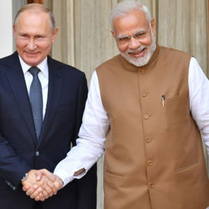 Modi Putin India Russia Sign $5 Billion S 400 Deal