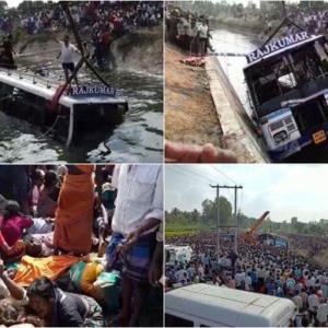 Mandya Bus Accident
