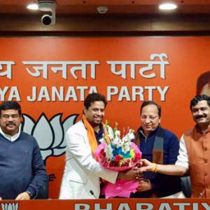 Saumitra Khan Joined Bjp