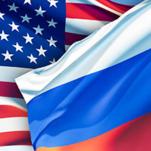 Us Russia Flag