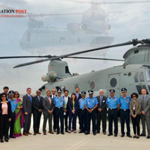 Chinook Helicopter India